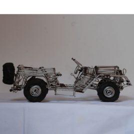 miniatuur jeep