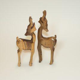 houten hertjes