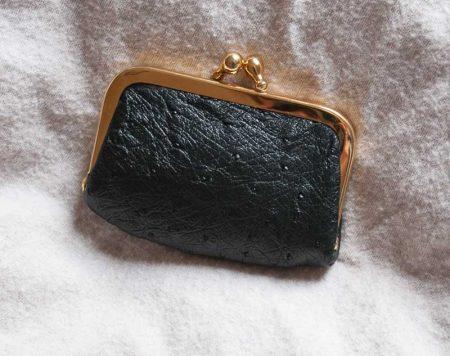 petit portemonnaie noir